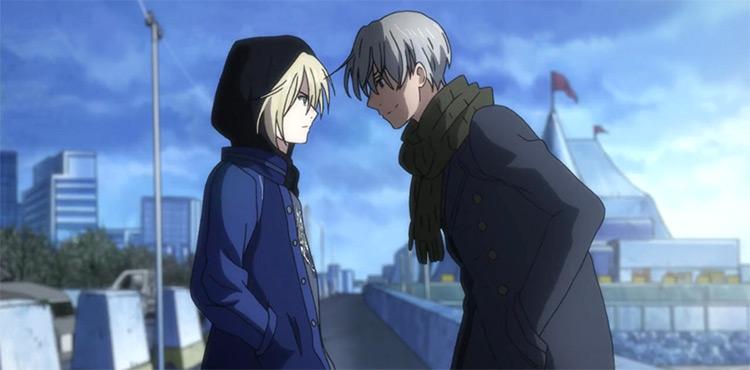 Yuri Plisetsky And Victor Nikiforov Yuri On Ice anime screenshot
