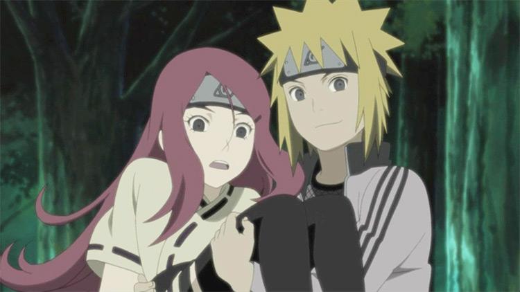 Minato Namikaze and Kushina Uzumaki from Naruto: Shippuden