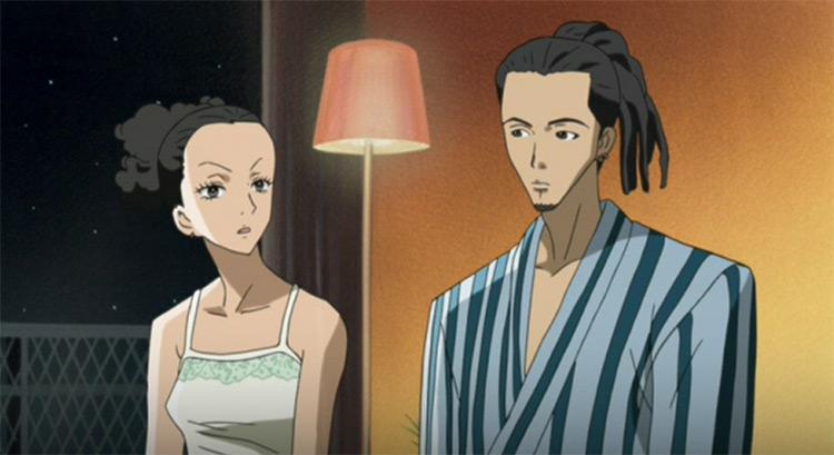 Junko Saotome and Kyosuke Takakura from Nana