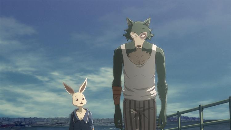 Legoshi and Haru anime screenshot