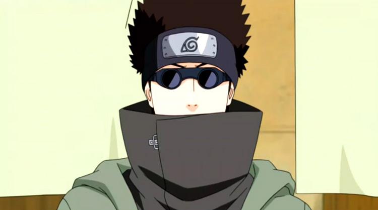 Shino Aburame Naruto anime screenshot