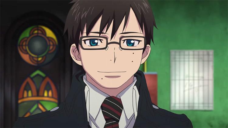Yukio Okumura Ao no Exorcist anime screenshot