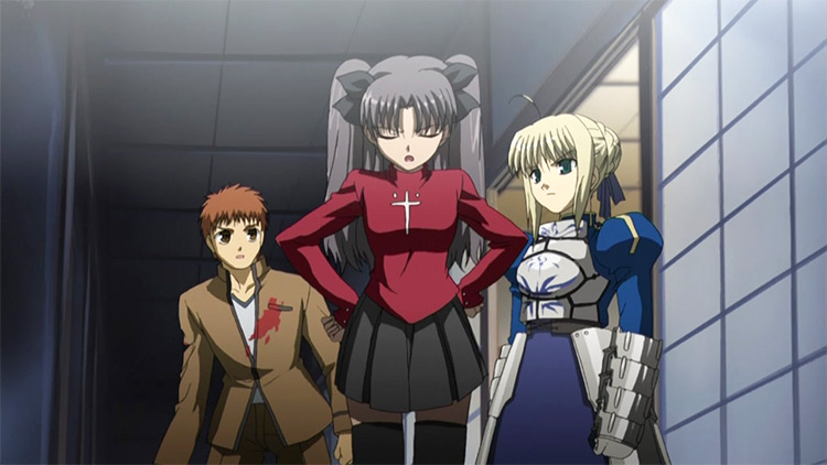 The Fate Series anime screenshot