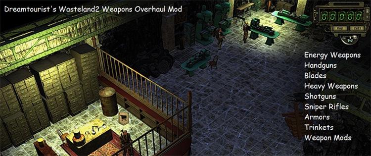 Weapons Overhaul Mod Wasteland 2 mod