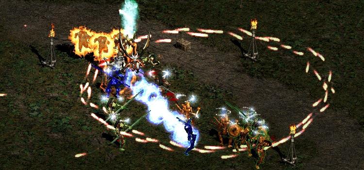 Diablo 2 Modded Screenshot