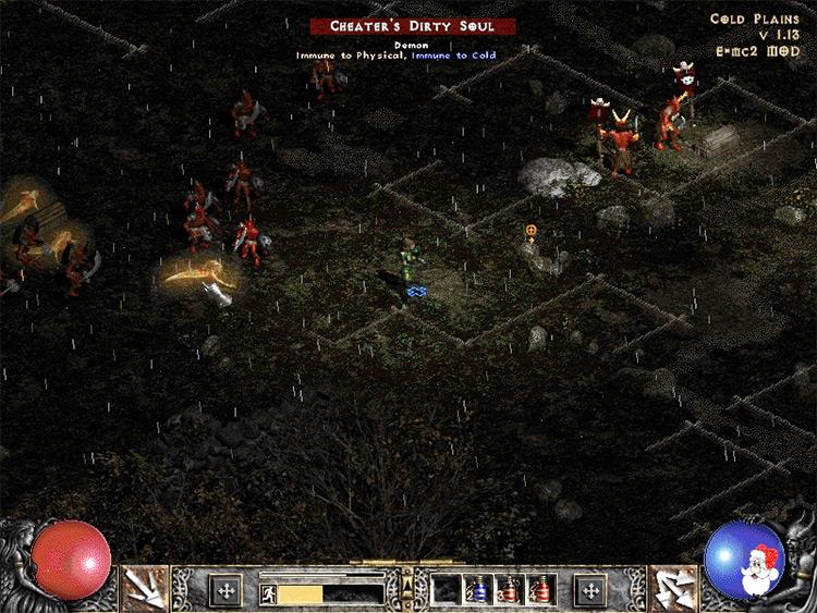 E=mc2 Diablo 2 mod screenshot