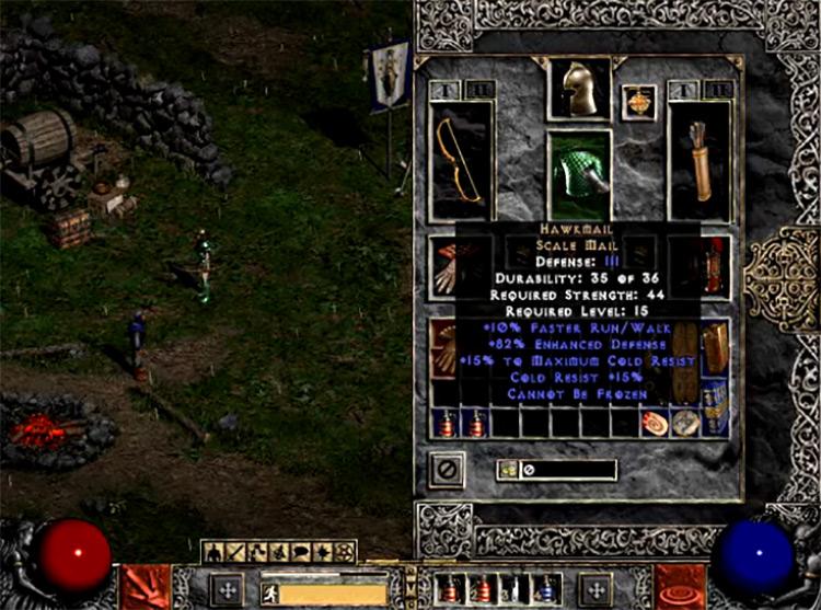 No Equipment Loss on Death Mod Diablo 2