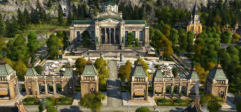 Temple Building Modded into Anno 1800