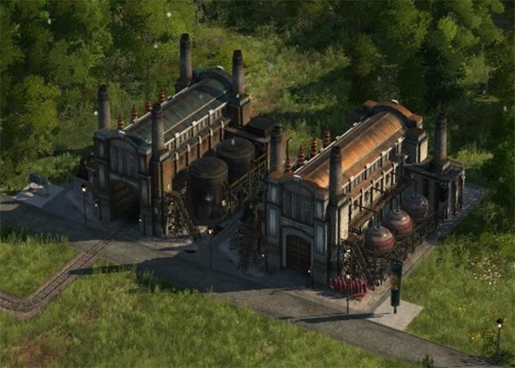 Power Plant Range and Storage Increase mod