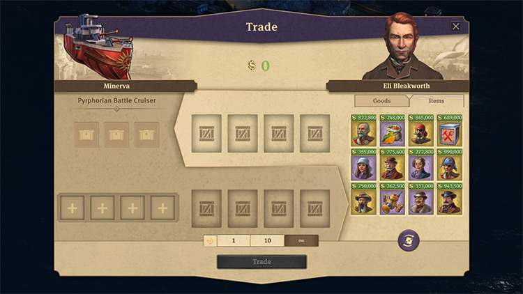 Legendary Traders mod for Anno 1800