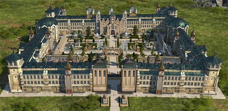 Archibald's Castle Anno 1800 mod