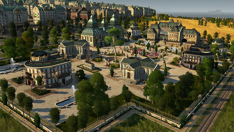 The Academy Anno 1800 game mod