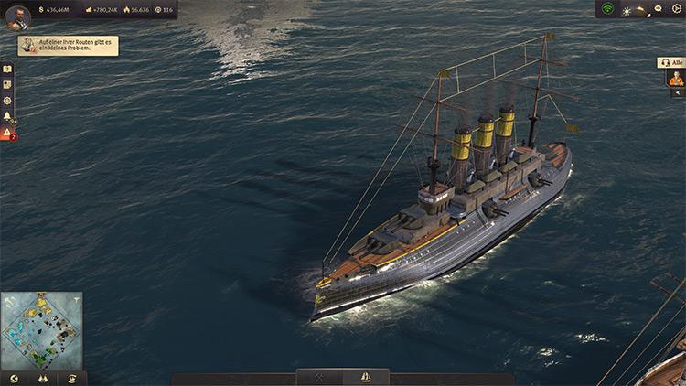 Battleship Mod for Anno 1800