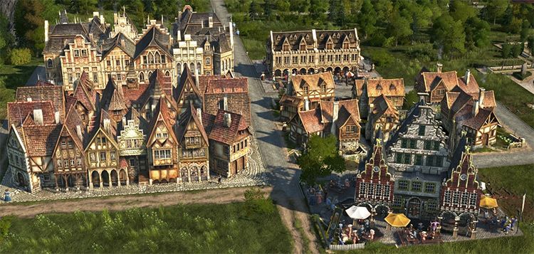 Old Town Anno 1800 mod