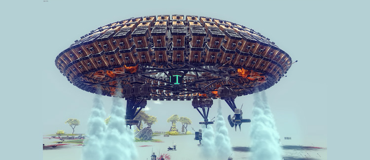 UFO Besiege mod screenshot