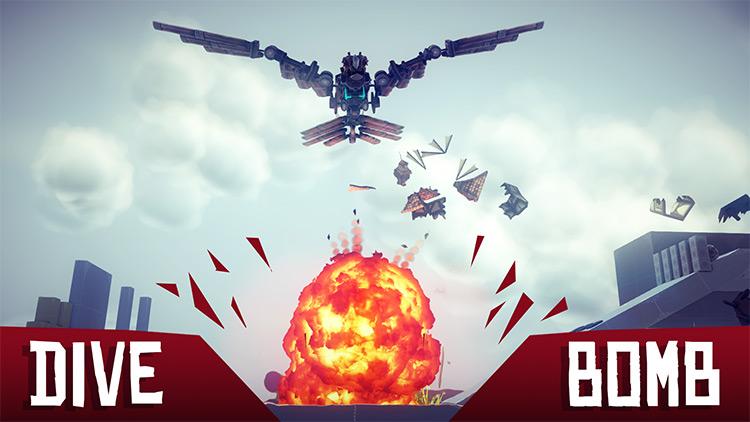 Bionic Chicken Hawk Besiege mod