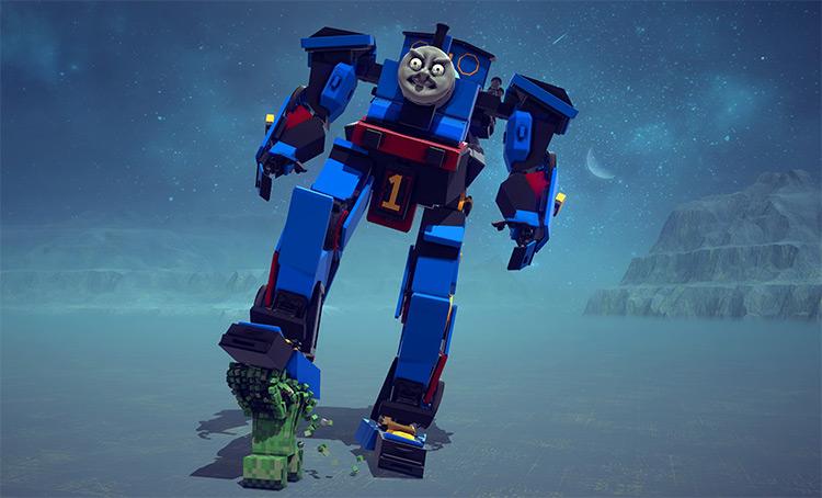Thomas the Mech Engine mod for Besiege