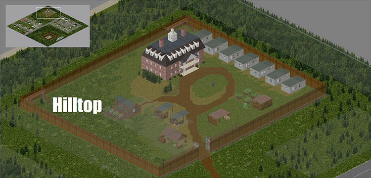 The Walking Dead Project Pack for Project Zomboid