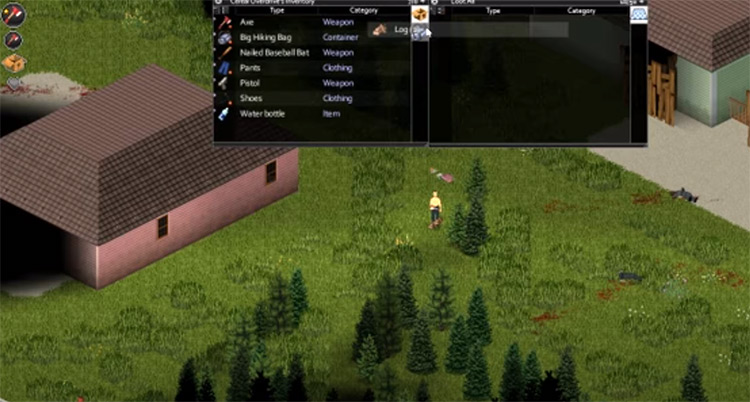 Desperate Crafting mod for Project Zomboid