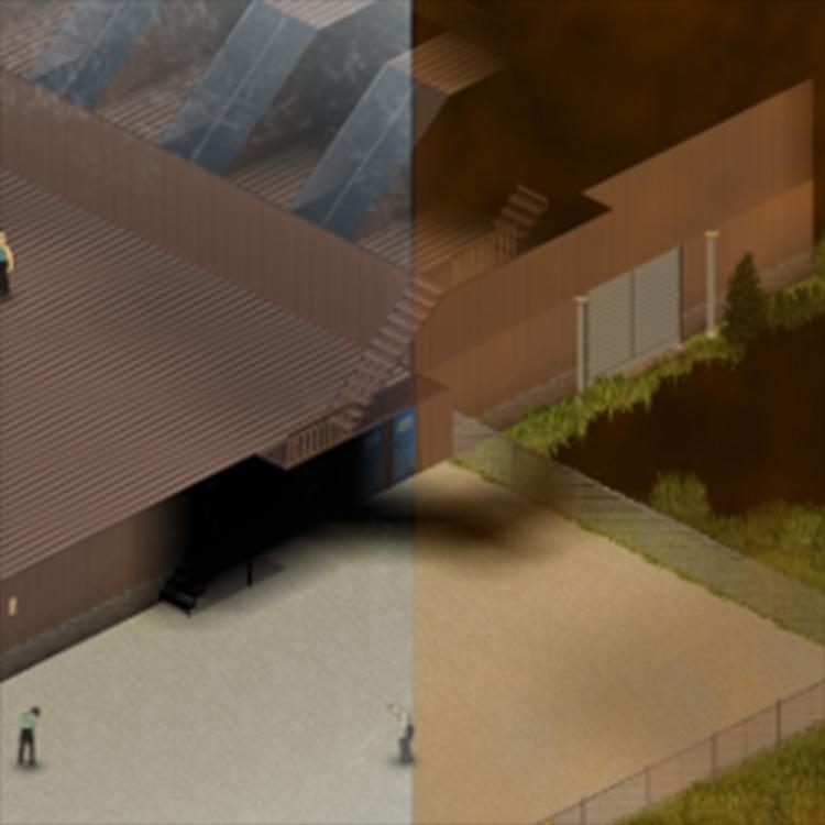 Immersive Overlays Project Zomboid mod