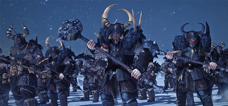 Dryrains Reskin in TW Warhammer 2 mod