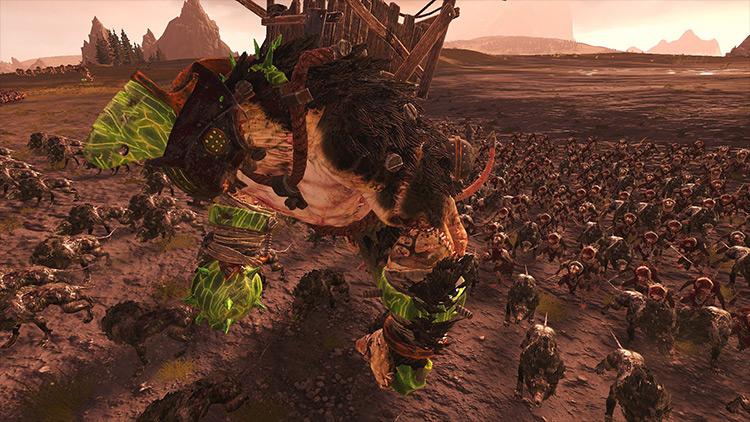 Ultimate Skaven Total War: Warhammer 2 mod screenshot