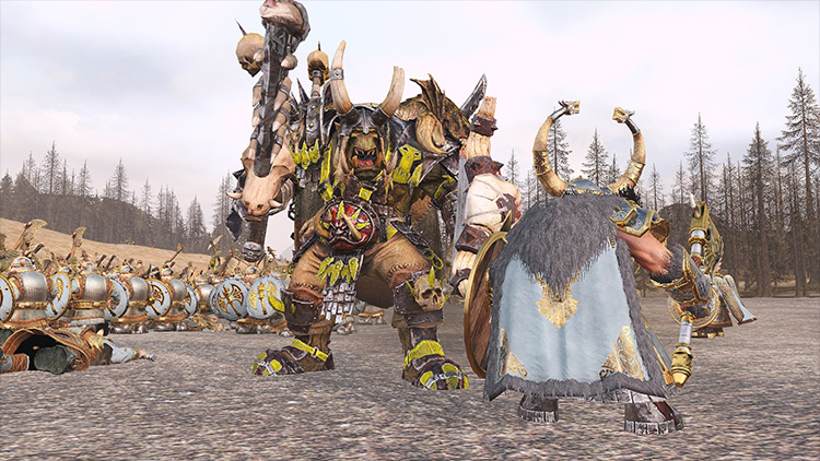 Sebidee's Unit Resize mod for Total War: Warhammer 2