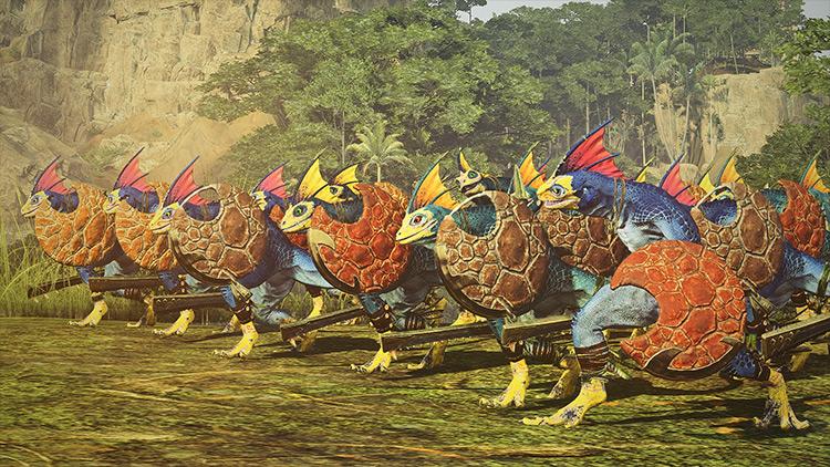 Dryrain's Reskin Overhaul Total War: Warhammer 2 mod