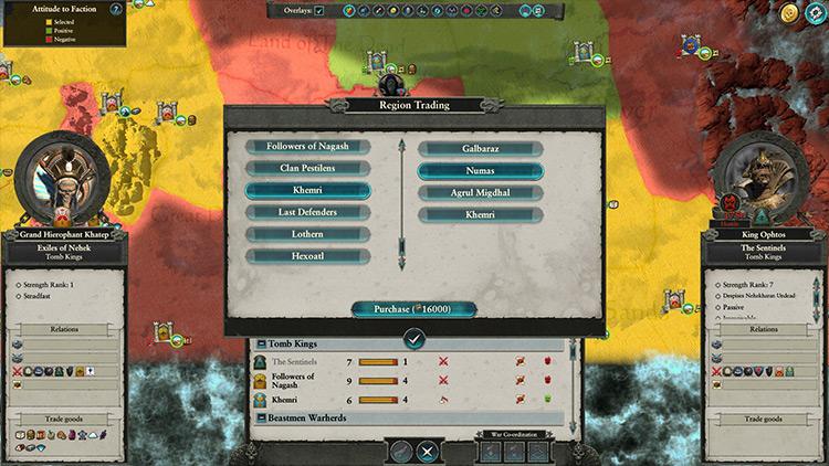 Region Trading Total War: Warhammer 2 mod screenshot