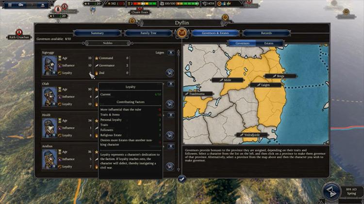 Loyalty+ Total War Saga: Thrones of Britannia mod screenshot