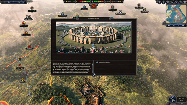 Historical Cities and Landmarks mod for Total War Saga: Thrones of Britannia