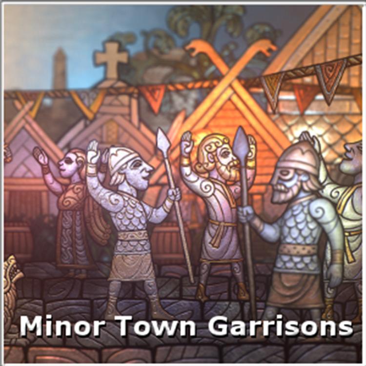 Minor Town Garrisons Total War Saga: Thrones of Britannia mod