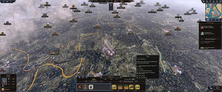 Seasonal Effects mod for Total War Saga: Thrones of Britannia