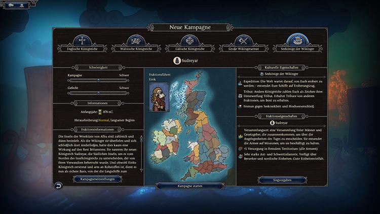 Faction Leader Sudreyar Total War Saga: Thrones of Britannia mod