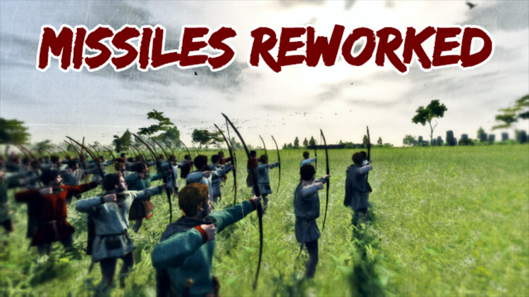 Missiles Reworked mod for Total War Saga: Thrones of Britannia