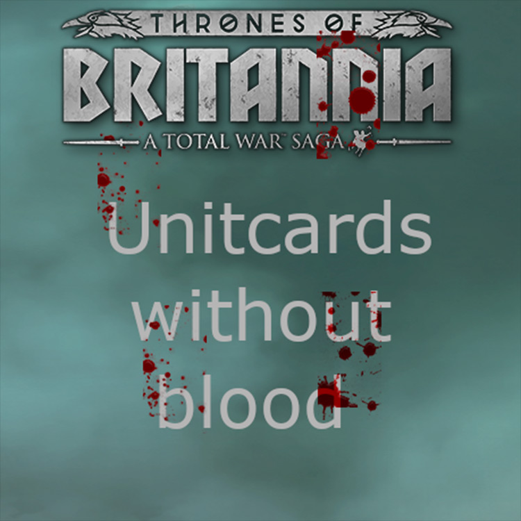 No Blood Unitcard Total War Saga: Thrones of Britannia screenshot