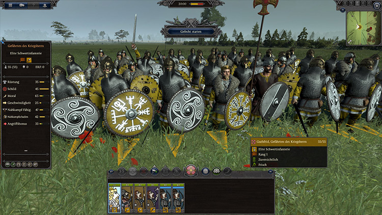 Guthfried Model Northumbria Total War Saga: Thrones of Britannia mod