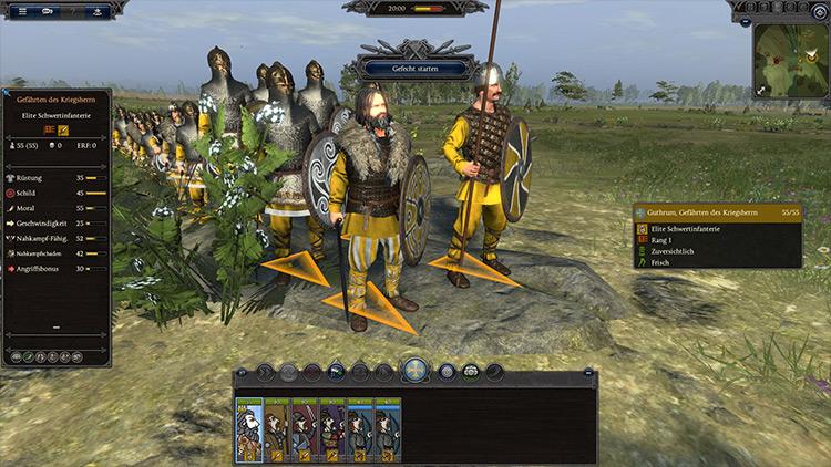Faction Leader East-Anglia Total War Saga: Thrones of Britannia mod