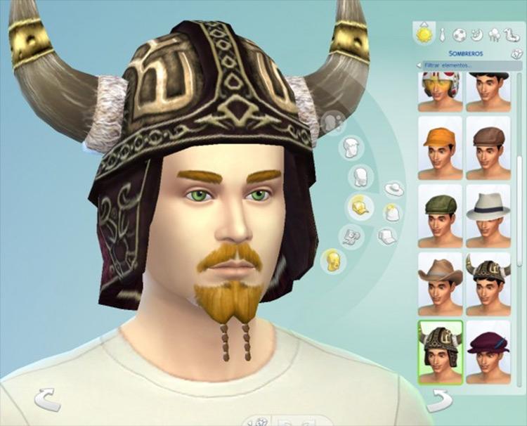 Viking Hat Sims 4 CC