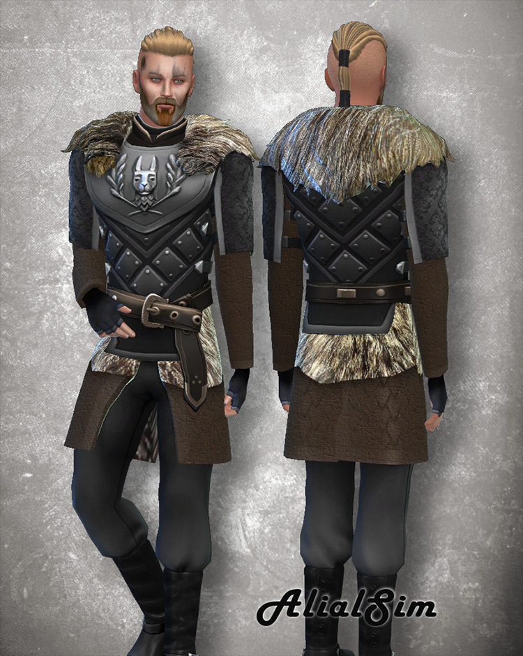 Viking Costume CC for Sims 4