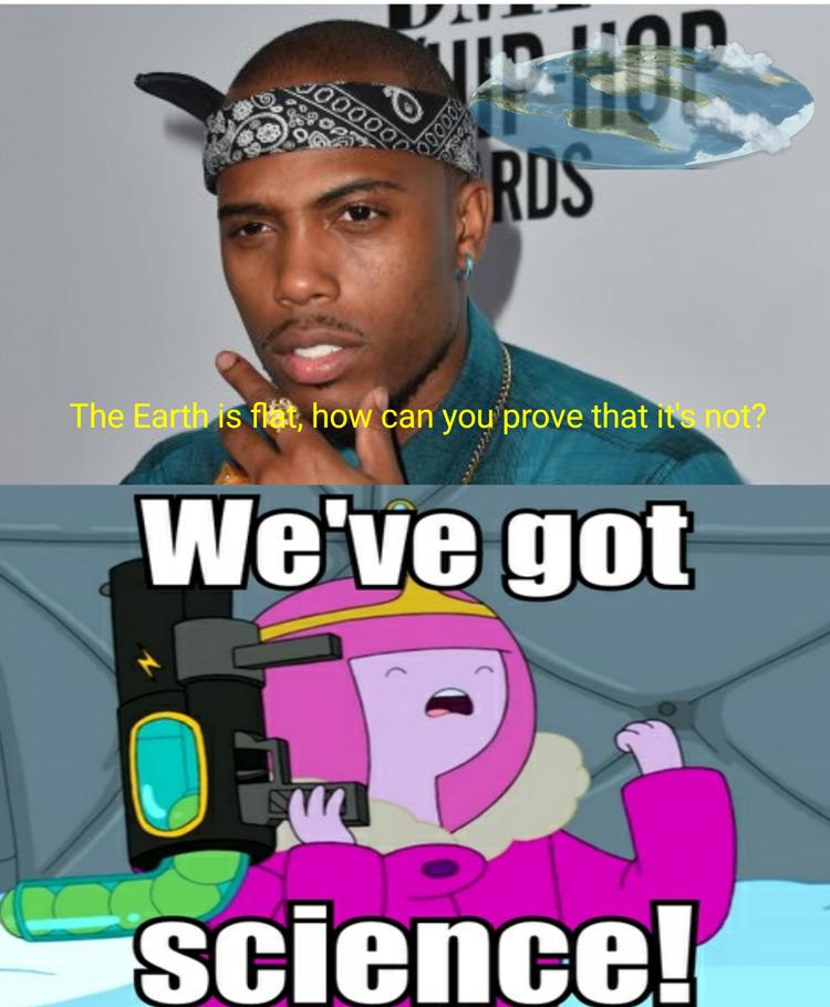 Weve got science Princess PB meme