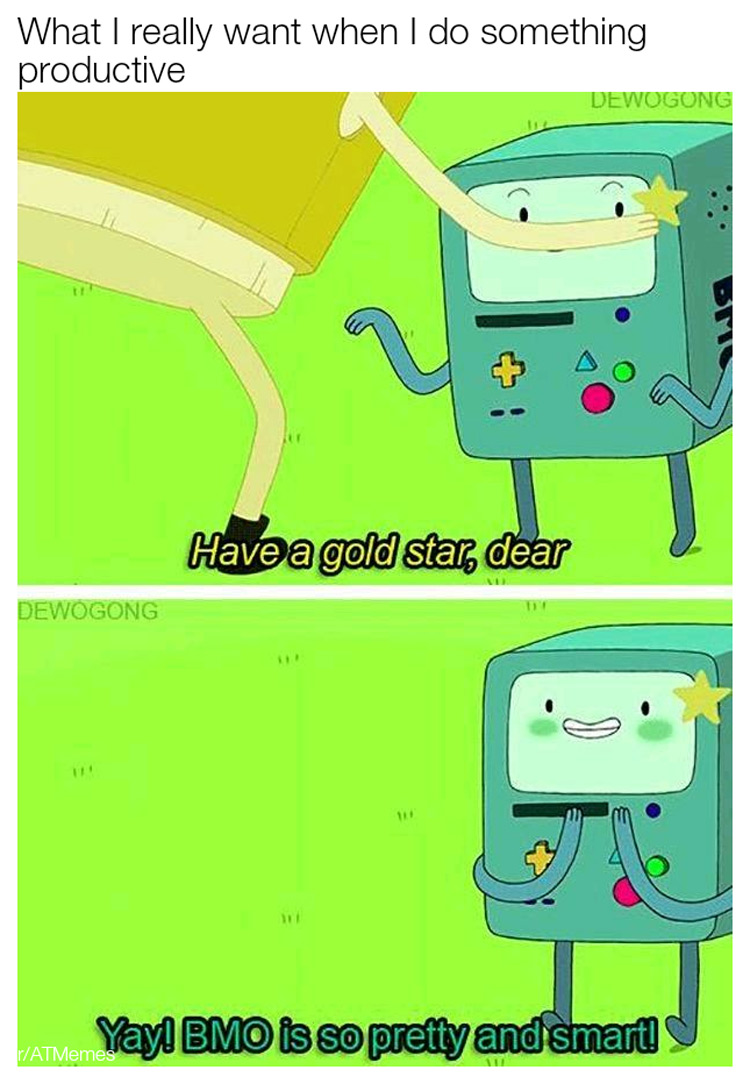 Yay Bmo is so pretty and smart