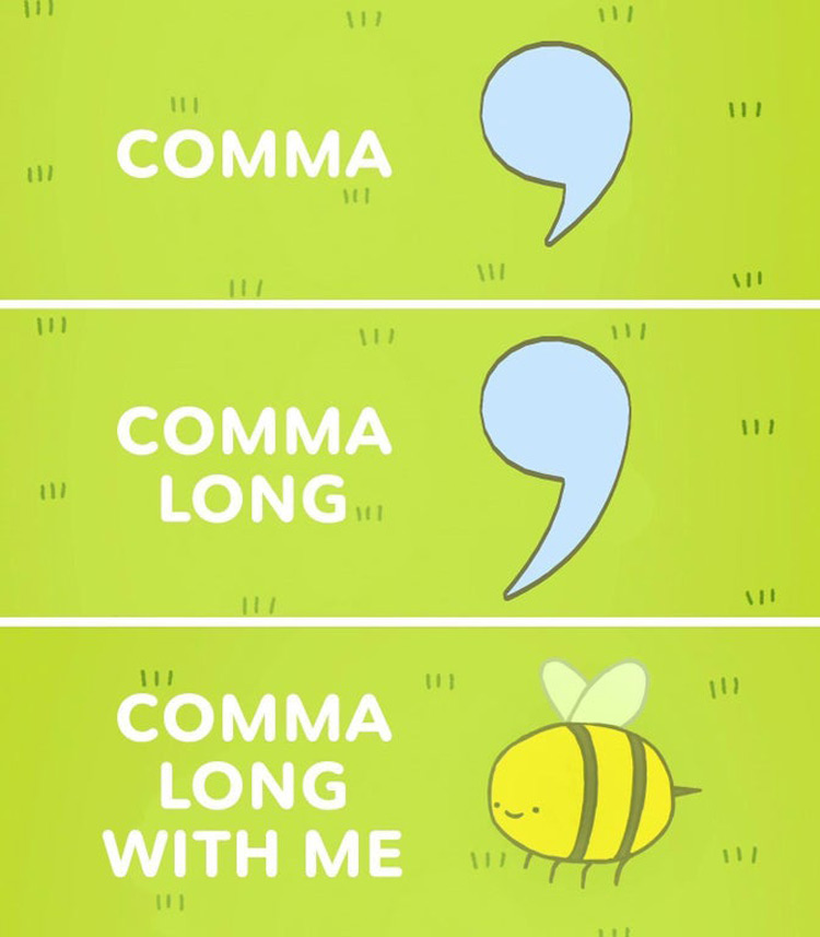 Comma Long With Me AT meme
