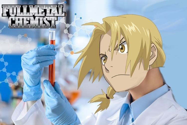 Fullmetal Chemist FMA meme