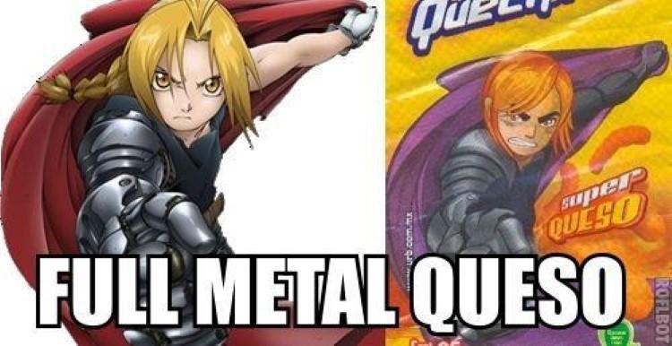 Fullmetal Queso meme joke
