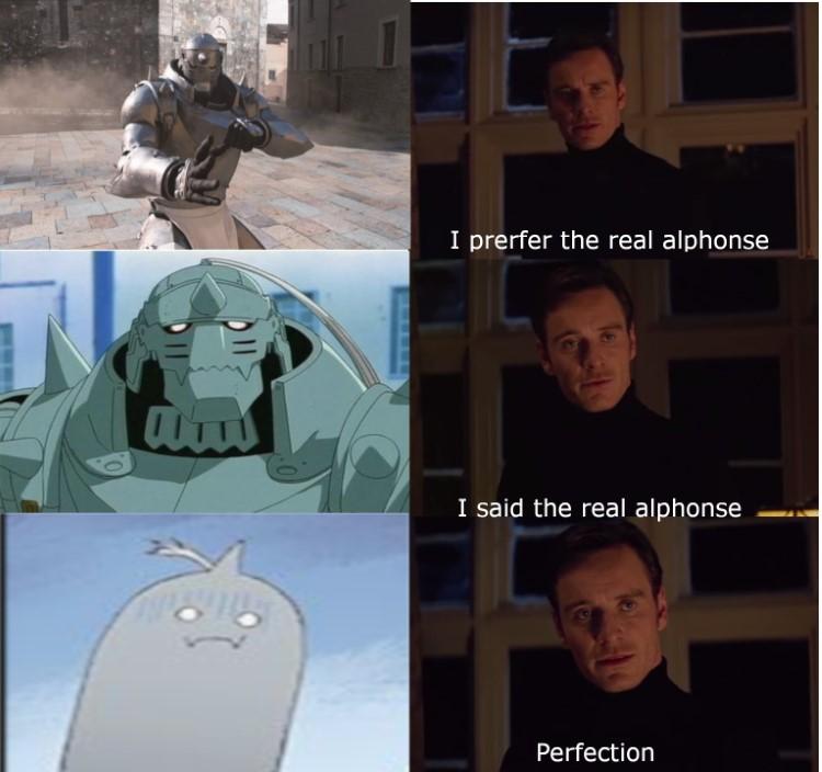 I prefer the real Alphonse meme