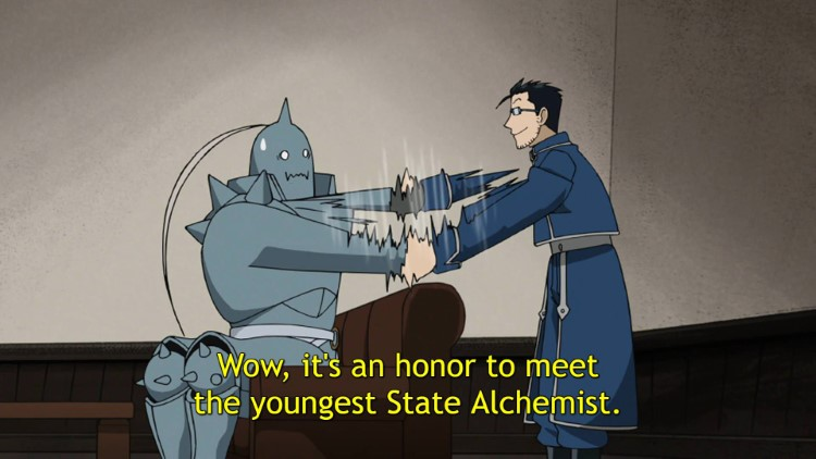 Wow, its an honor to meet youngest State Alchemist meme