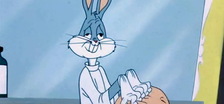 Funny Bugs Bunny face screenshot