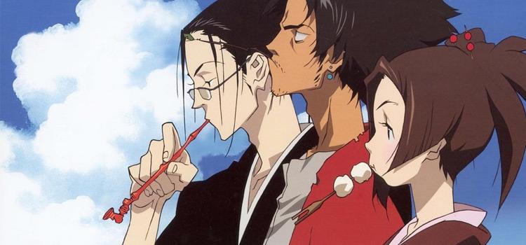 Samurai Champloo characters screenshot