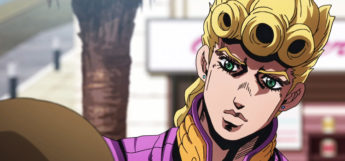 JoJo anime screenshot - odd art style